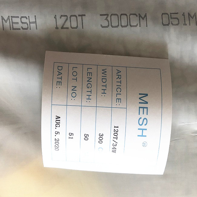 POLYESTER SCREEN PRINTING MESH 16T-90
